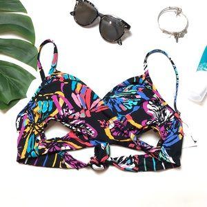 💕Vera Bradley NWT bikini reversible top
